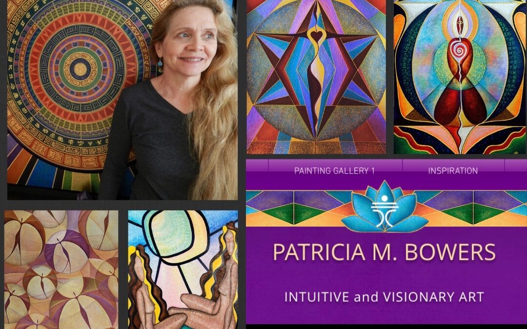 How I met the film's featured artist, Patricia M. Bowers – by Meagan Murphy